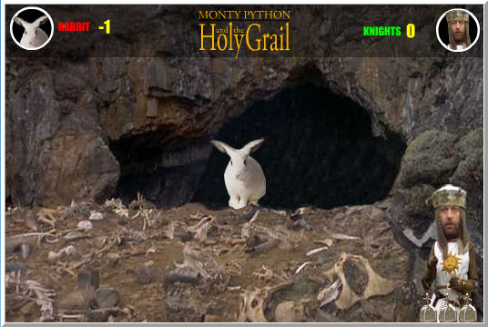 Monty Python and The Holy Grail  Scene 20 Faced With a