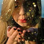 Blowing Sparklies